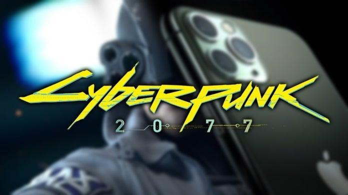 Cyberpunk 2077 iPhone 11