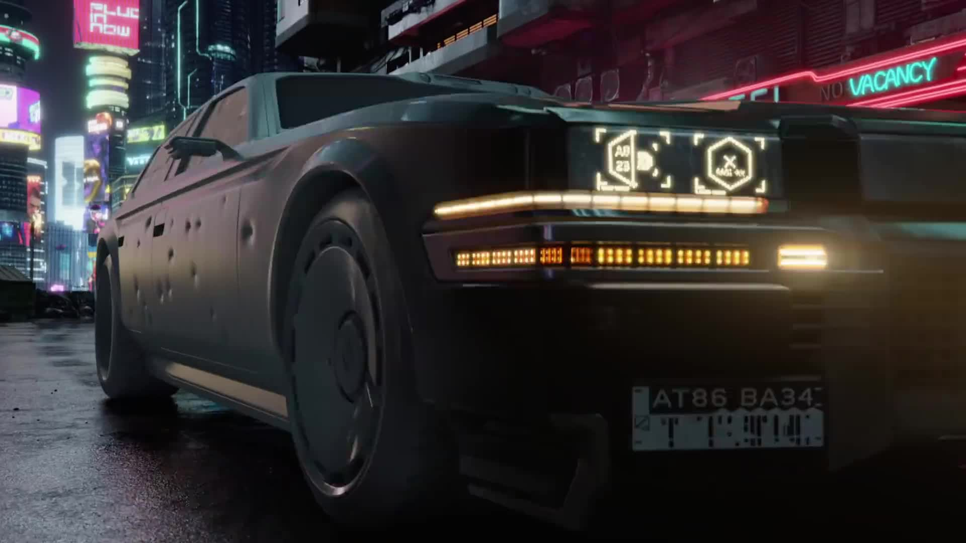 Cyberpunk 2077 - Official E3 2019 Cinematic Trailer - Behind the Scenes [HD] screen capture