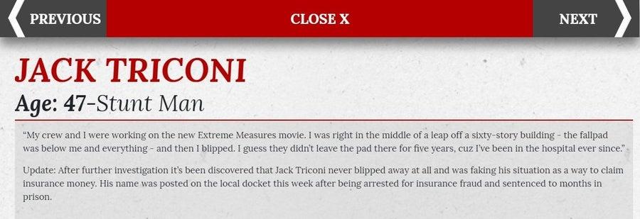 Daily Bugle Jack Triconi