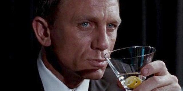 Daniel Craig Drunk Bond No Time Die Wrap Party