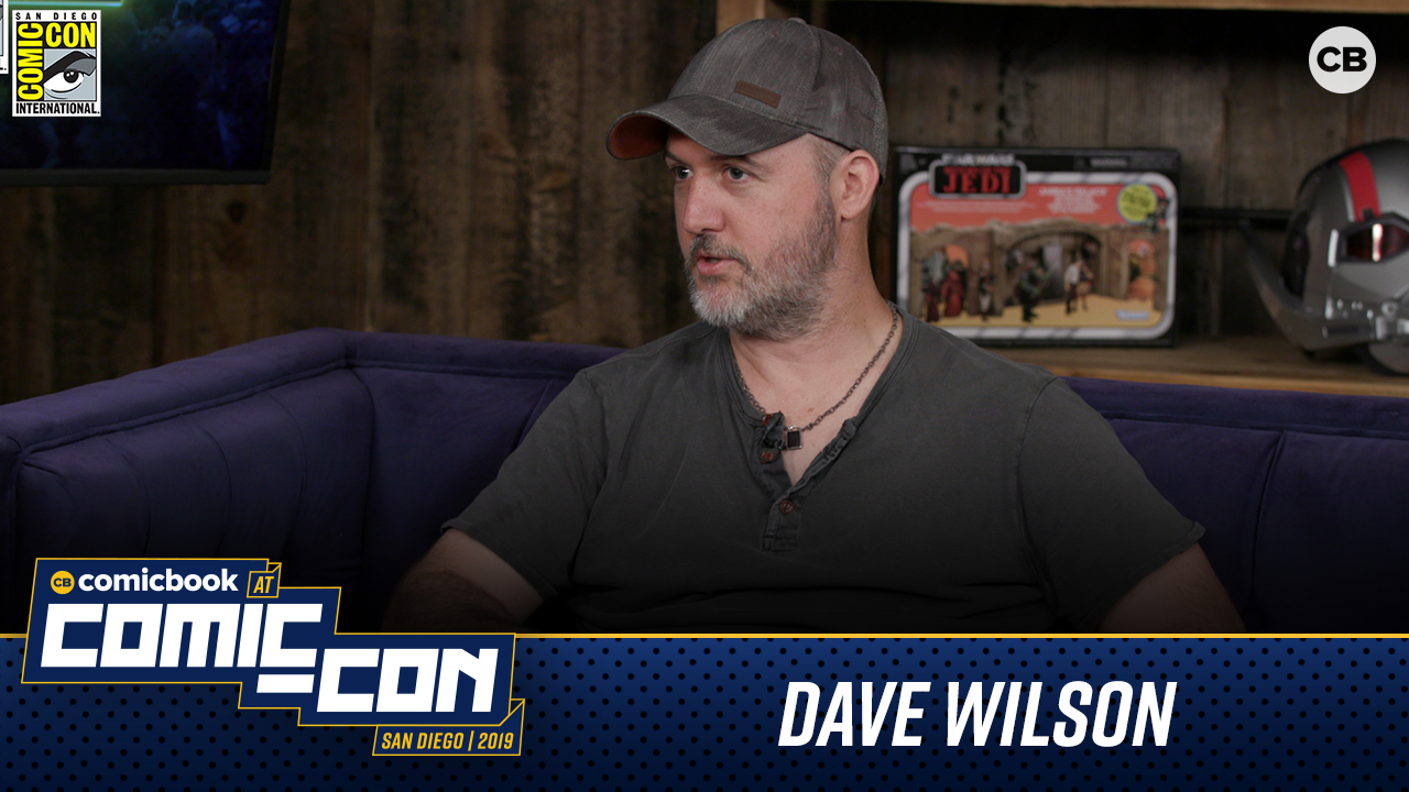 Dave Wilson talks Bloodshot - San Diego Comic-Con 2019 Interview screen capture
