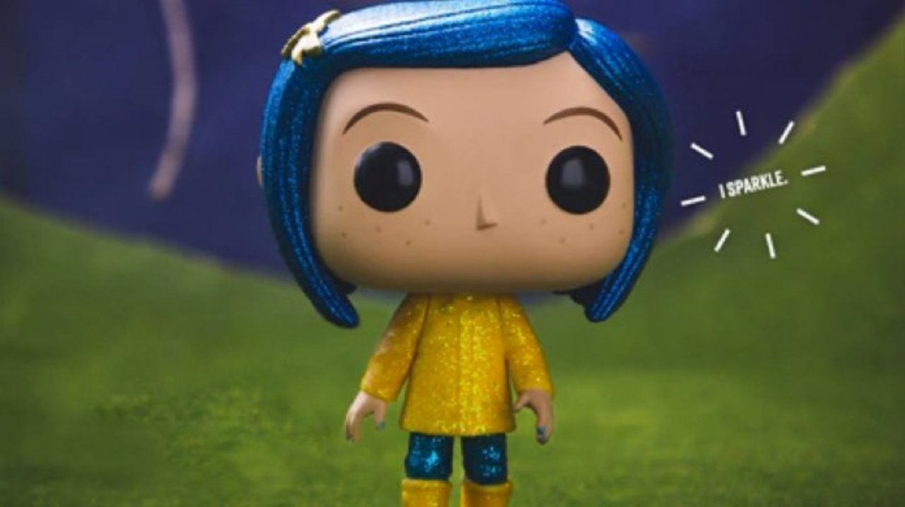 Funko S Sparkly Diamond Collection Coraline Pop Launches Tonight