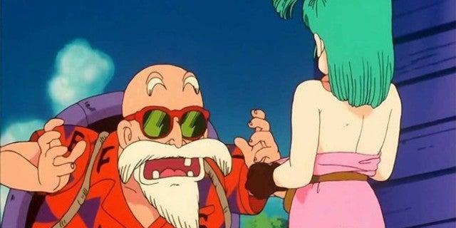 Dragon Ball Akira Toriyama Bathhouse Peeping Story Master Roshi