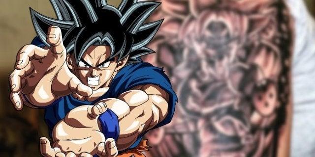 Dragon Ball Super Best Tattoos Ultra Instinct Goku Gogeta