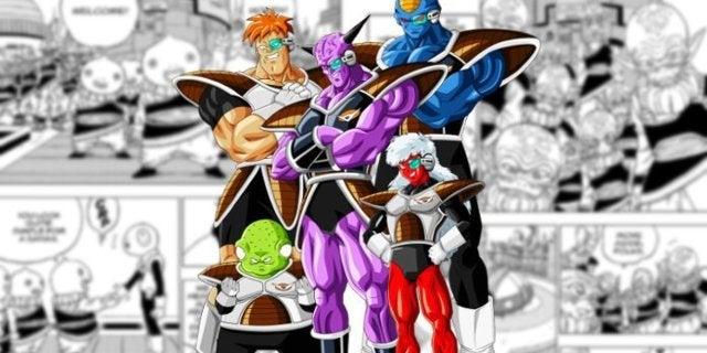 Dragon Ball Super Chapter 52 Ginyu Foce Yardrat Invasion Attack