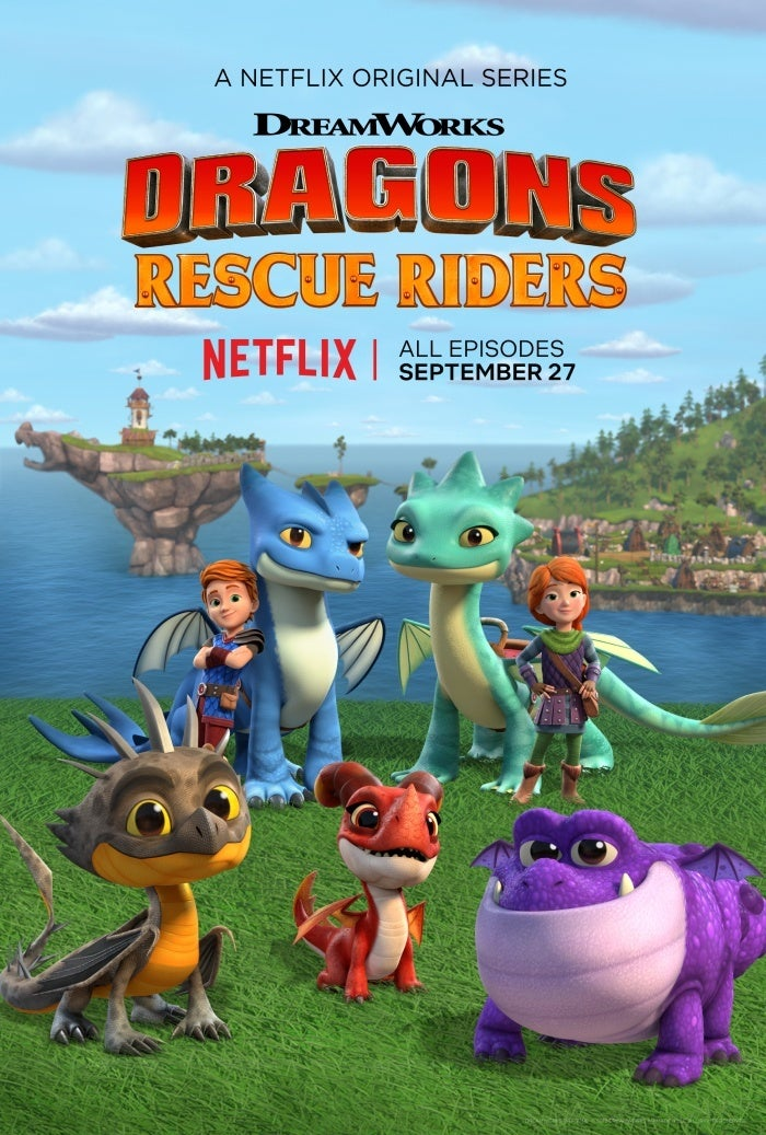 dragons rescue riders poster netflix