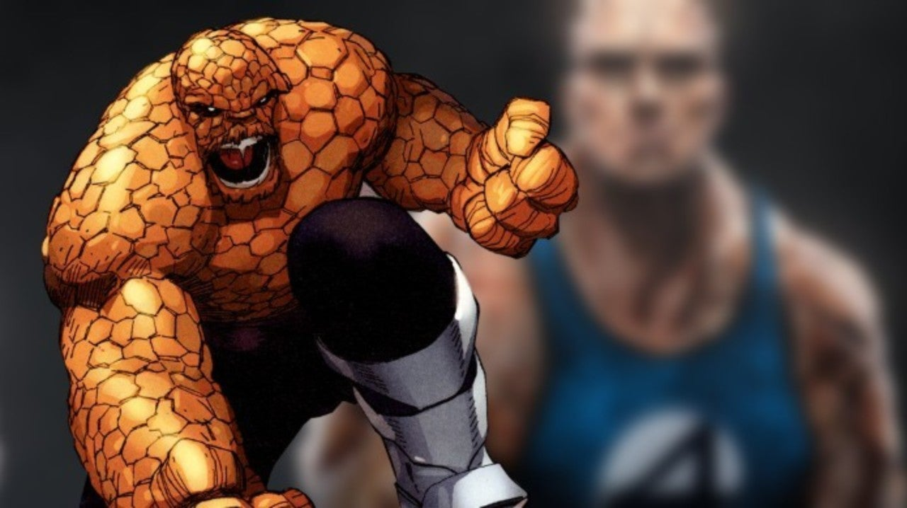 Here's What The Rock Could Look Like as Fantastic Four's The Thing