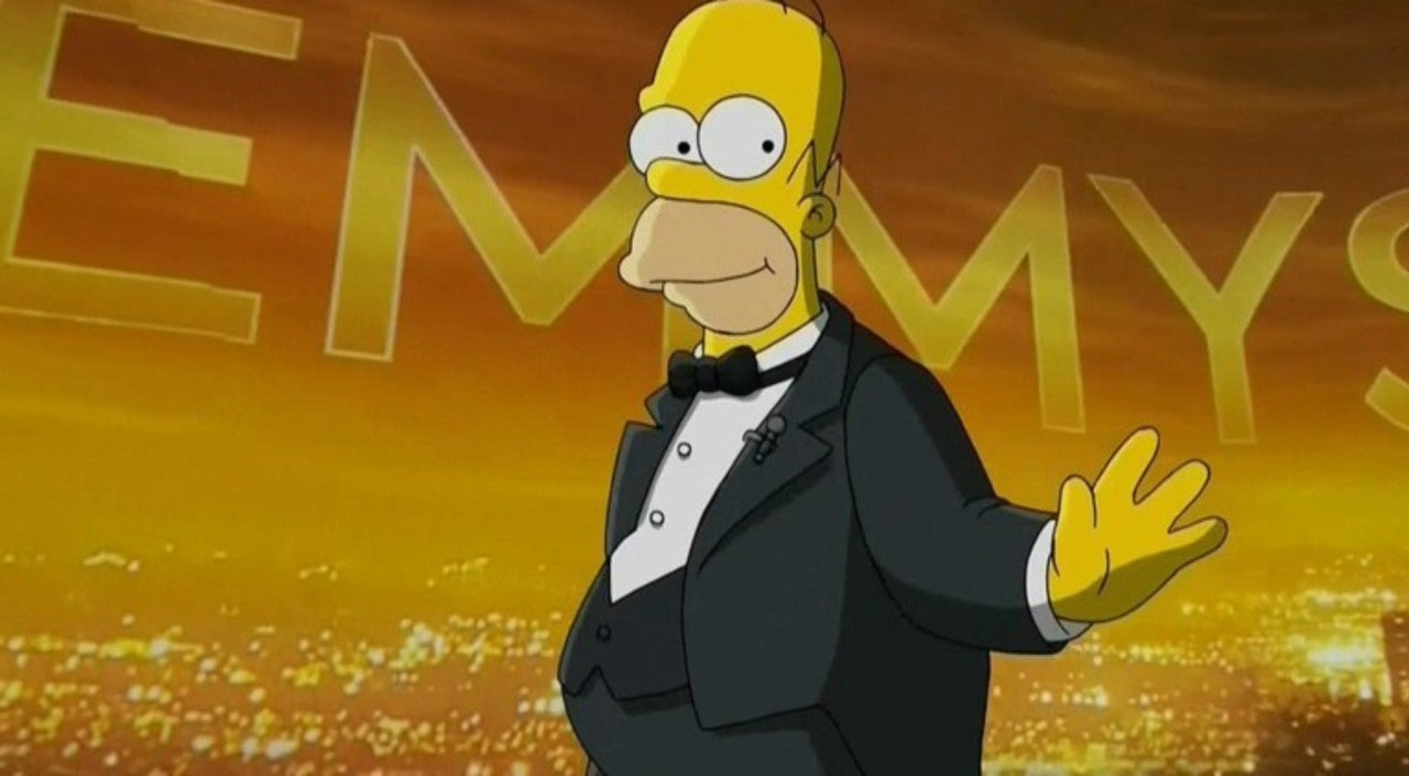Homer Simpson Is Surprise But Short-Lived Host Of The Emmy Awards