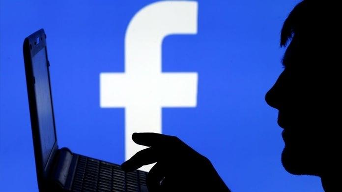facebook logo computer