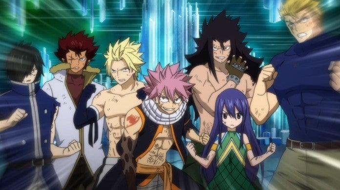Fairy Tail Episode 325 Dragon Slayers