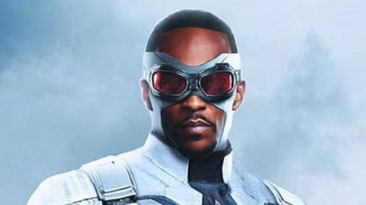 Anthony Mackie Becomes Captain America in Epic Fan Art