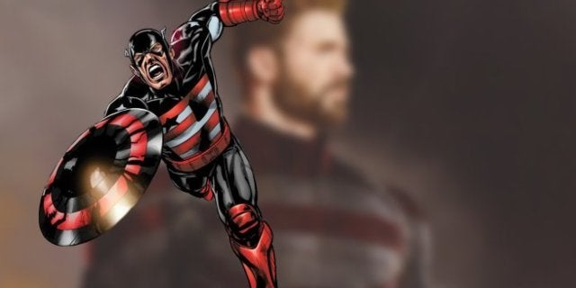 Falcon Winter Soldier US Agent Costume Captain America Concept Art