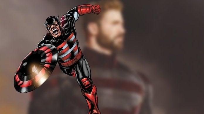 Falcon Winter Soldier US Agent Costume Captain America Concept Art