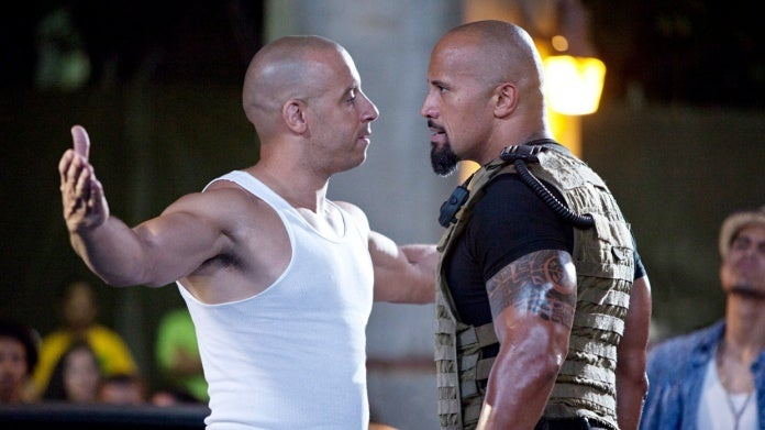 Fast Five Dwayne Johnson Vin Diesel