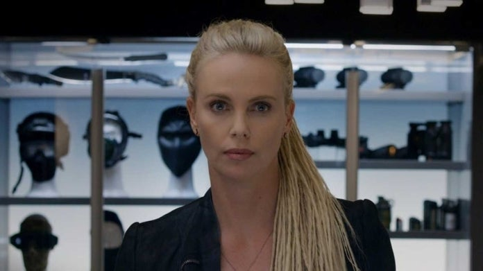 Fast Furious Charlize Theron Cipher