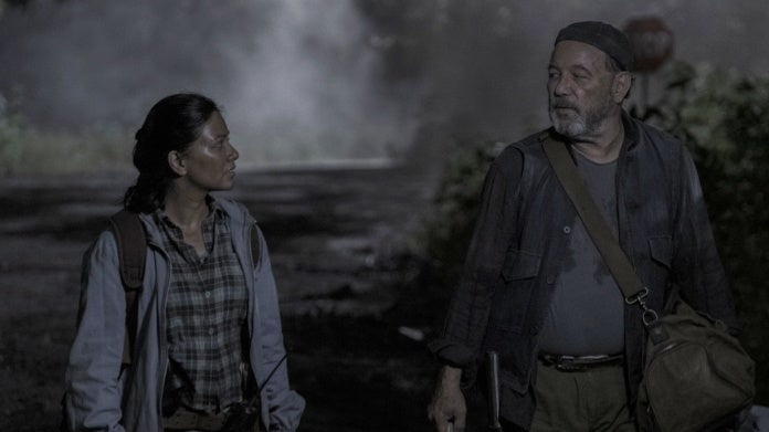 Fear the Walking Dead Karen David Grace Daniel Ruben Blades