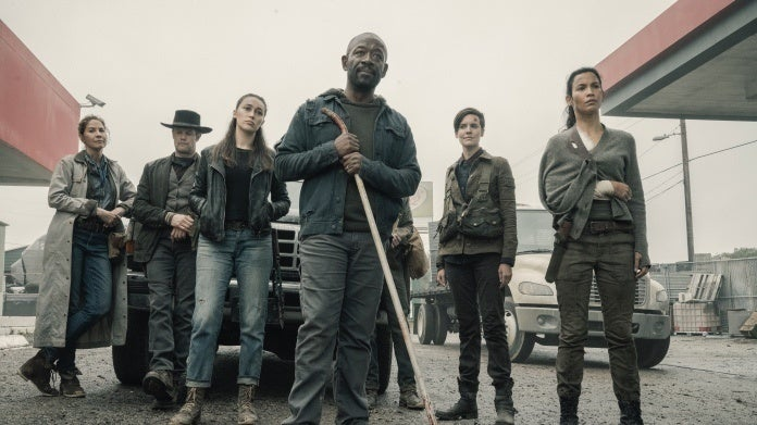 Fear the Walking Dead Season 5 group