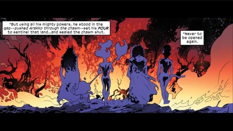 FIrst Horsemen of Apocalypse Marvel X-Men