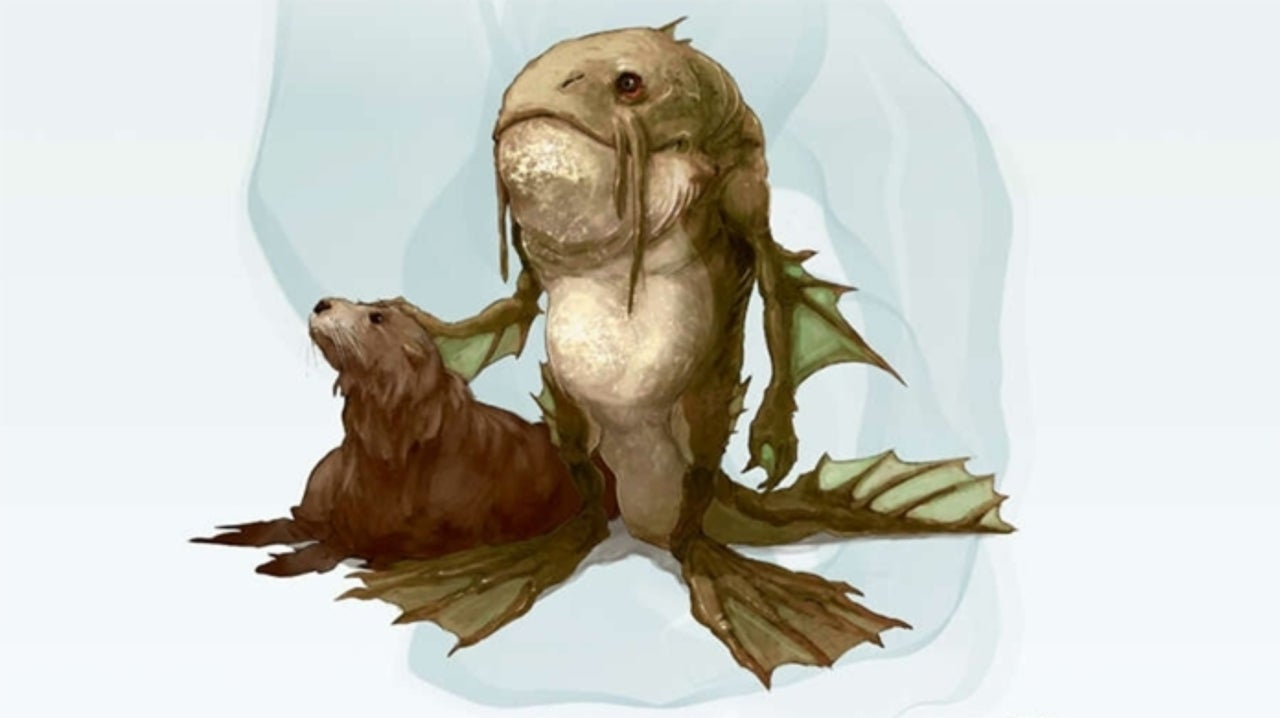 Dungeons & Dragons Adds a Playable Fishfolk Race for Charity