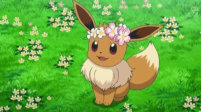 flower crown eevee