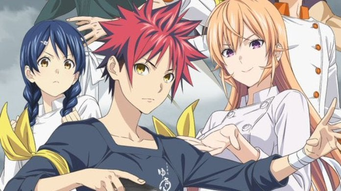 Food Wars Season 4 Poster Fourth Plate