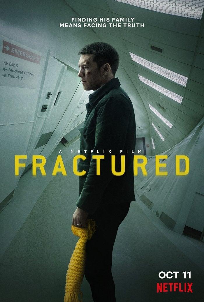 fractured movie poster 2019 sam worthington