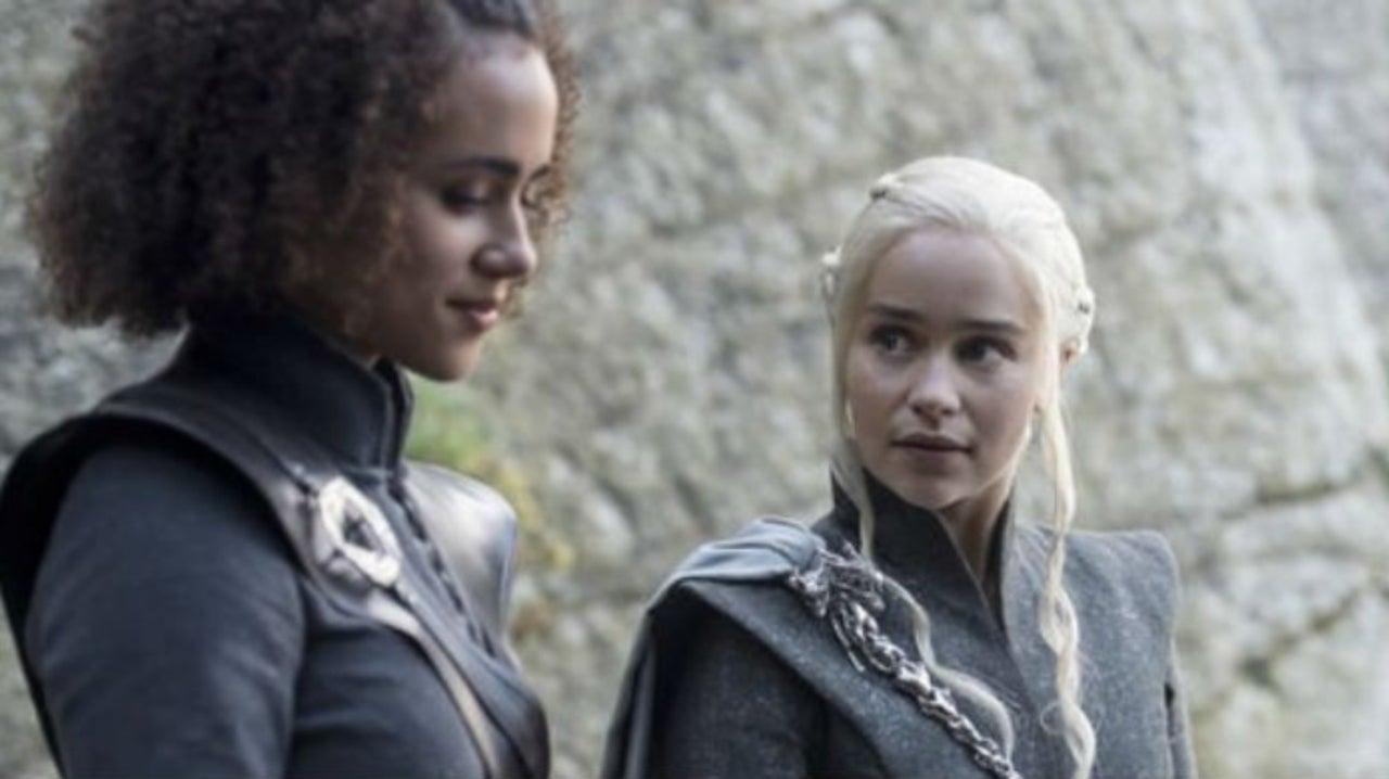 Game of Thrones Star Nathalie Emmanuel Shares Team Targaryen Photo From Emmys