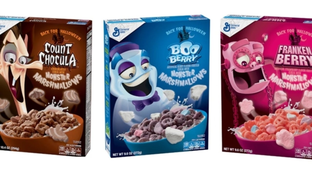 General Mills Monster Cereals are Officially Back for the Season