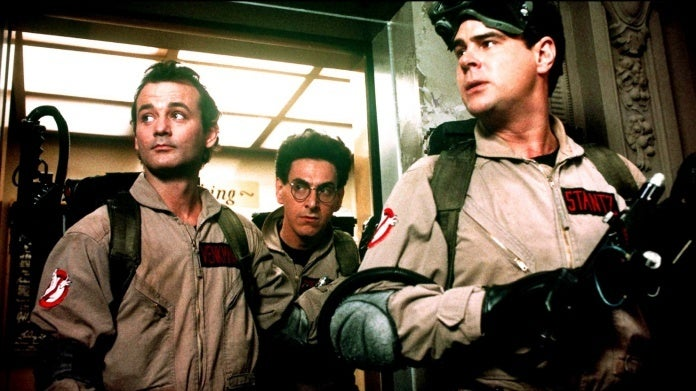 Ghostbusters Dan Aykroyd Harold Ramis Bill Murray