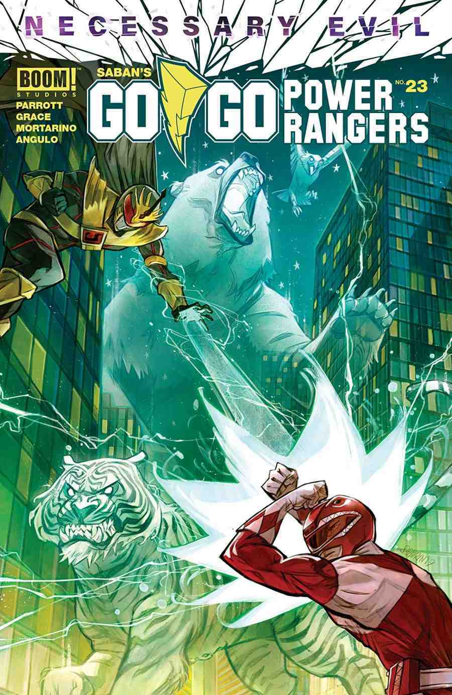 Go Go Power Rangers #23