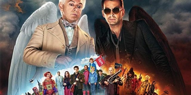 Good Omens Arrives On Blu-ray With Tons of Special Features