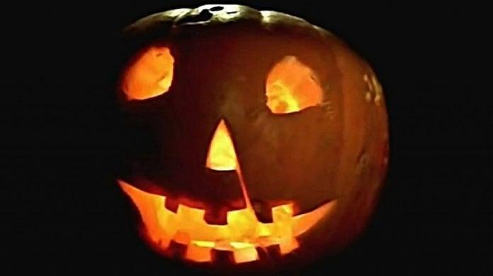 Halloween 1978 pumpkin