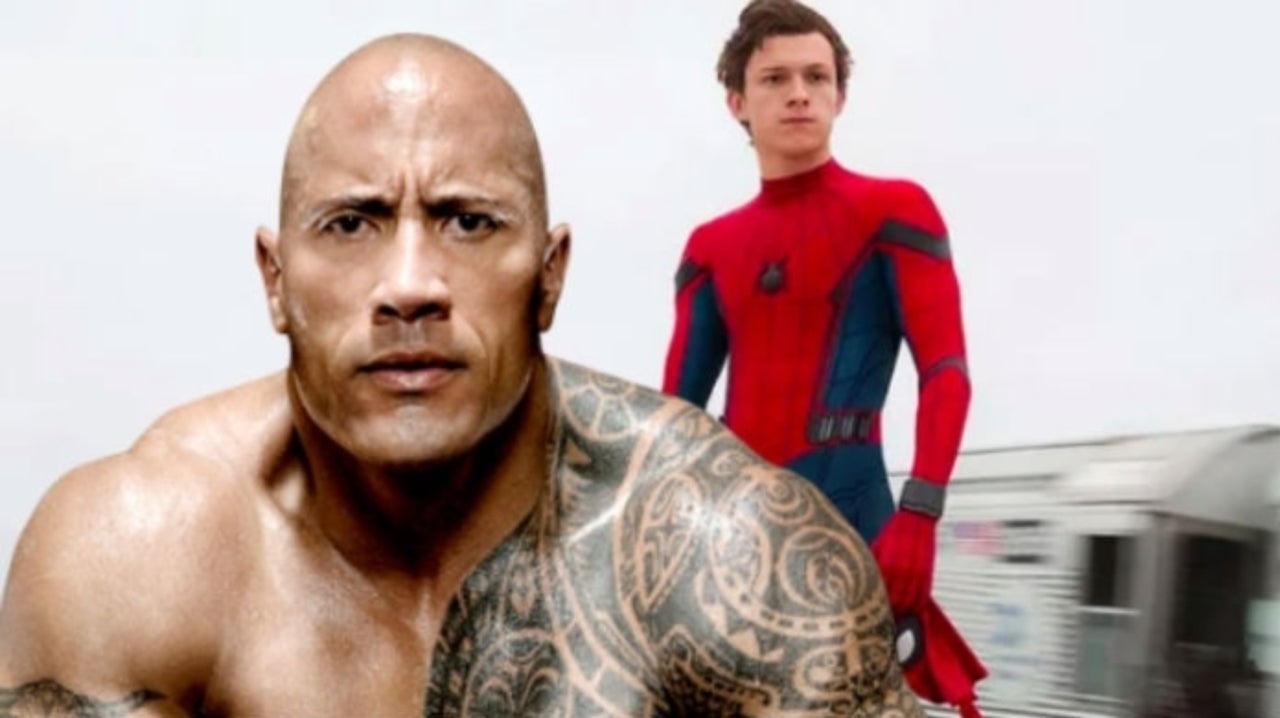 """The Rock Responds to Tom Holland's Praise by Calling Him a """"Good Buddy"""""""