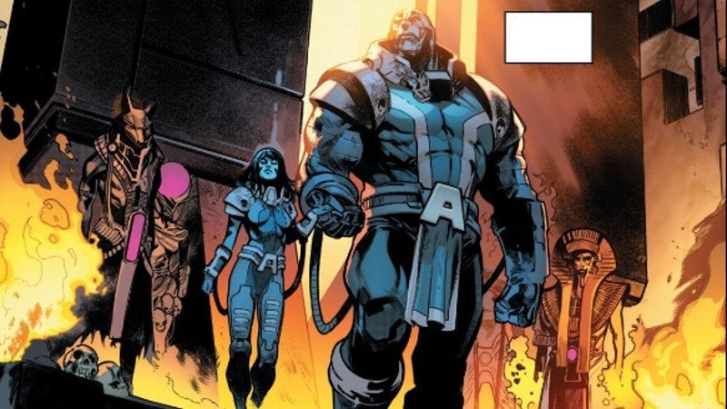 House of X Powers of X Apocalypse First Horseman