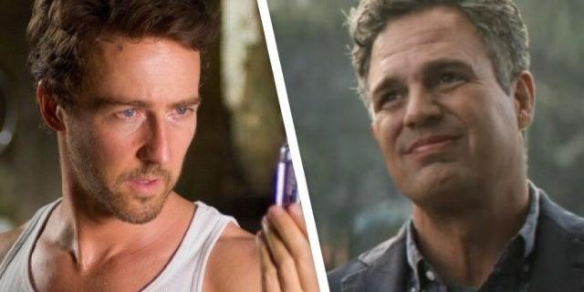 Avengers: Endgame Meme Pits Edward Norton Against Mark Ruffalo