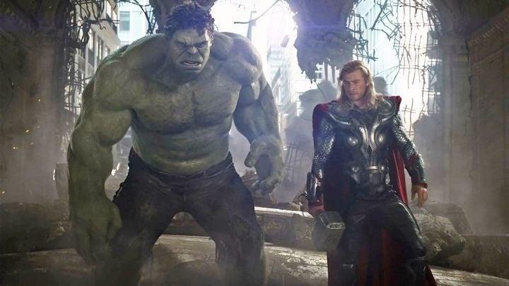 hulk thor punch