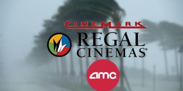 Hurricane Dorian Florida Regal AMC Cinemark Theaters Closing