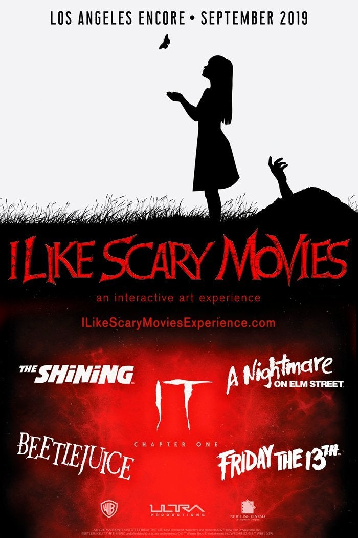i like scary movies encore exhibit
