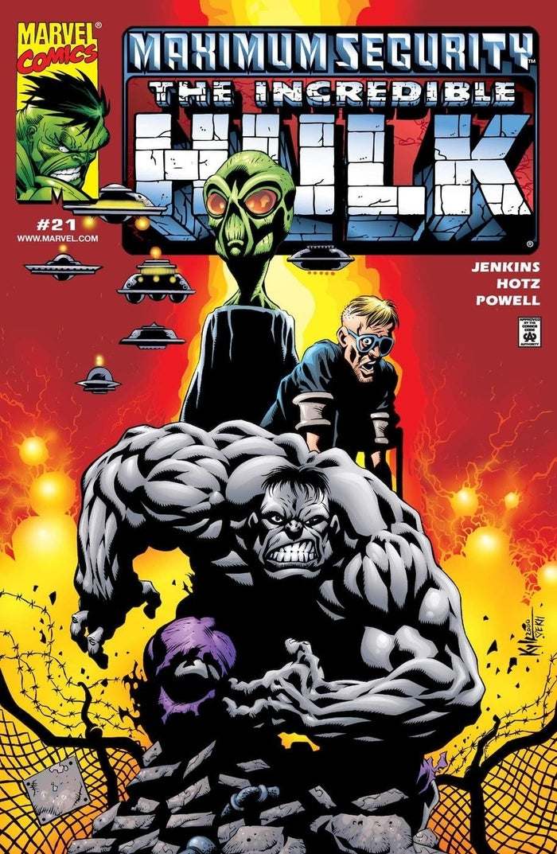 Incredible Hulk Raids Area 51