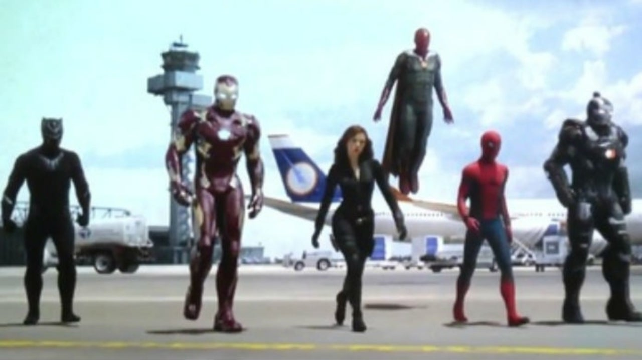 Team Iron Man From Captain America: Civil War Has Only Two Members Left in the MCU
