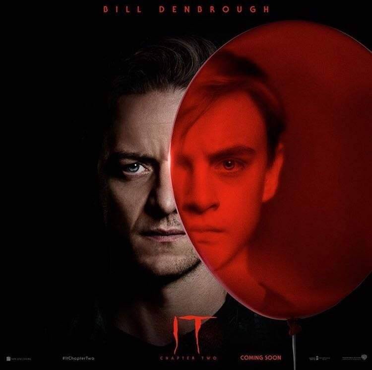 it chapter two bill denbrough poster 2019
