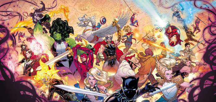 Jason Aaron Thor Epic - War of the Realms