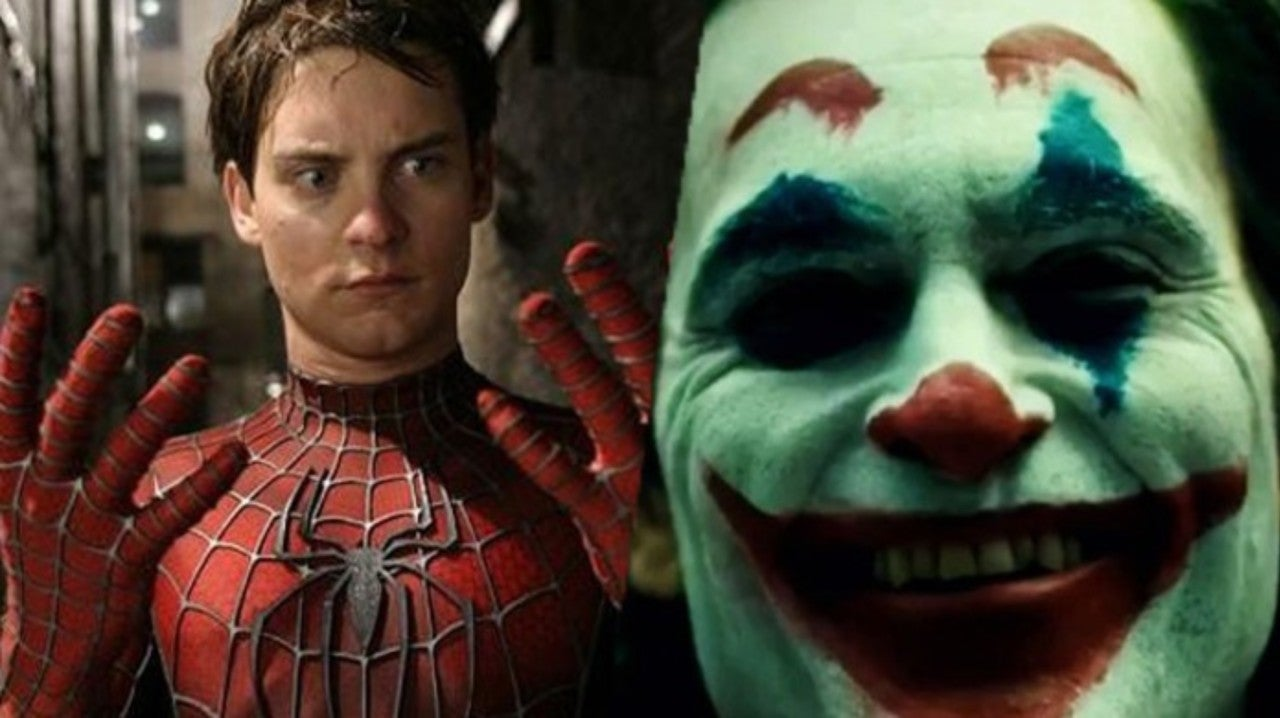 Joker Dancing With Tobey Maguire S Spider Man In The Hottest