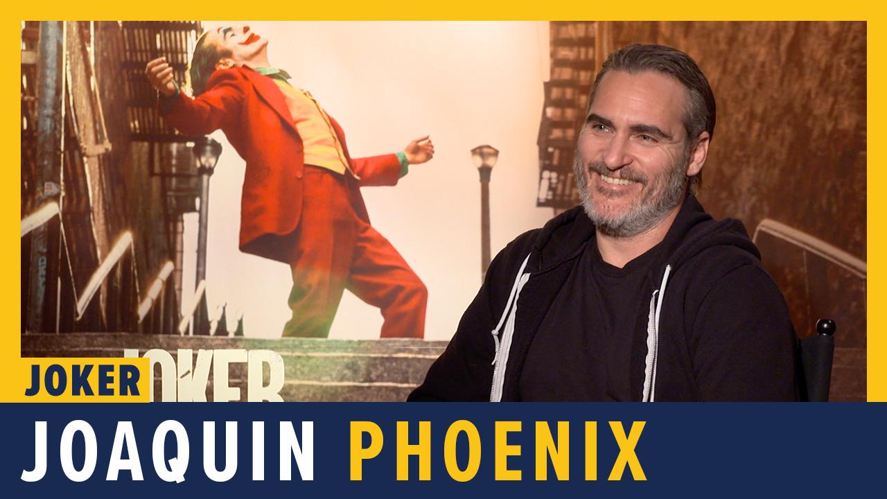 Joaquin Phoenix Talks JOKER - ComicBook.com Exclusive Interview screen capture