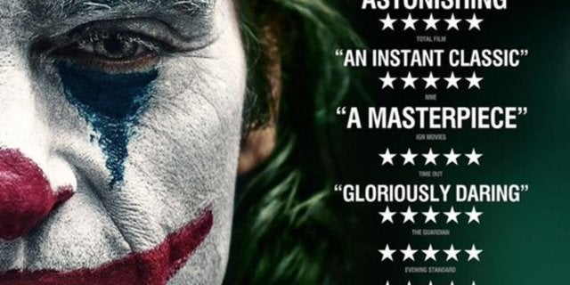 Joker Movie Critics Poster