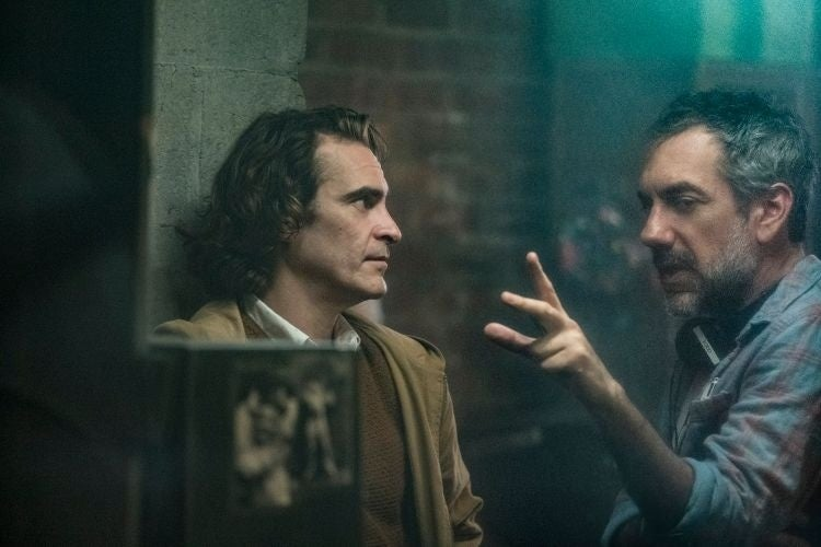 joker movie photos joaquin phoenix todd phillips