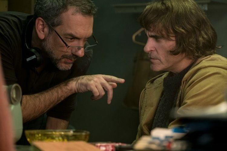 joker movie photos joaquin phoenix todd phillips 2