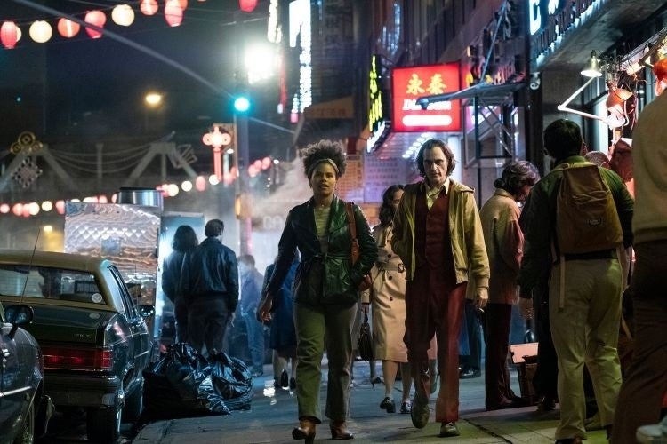 joker movie photos joaquin phoenix zazie beetz