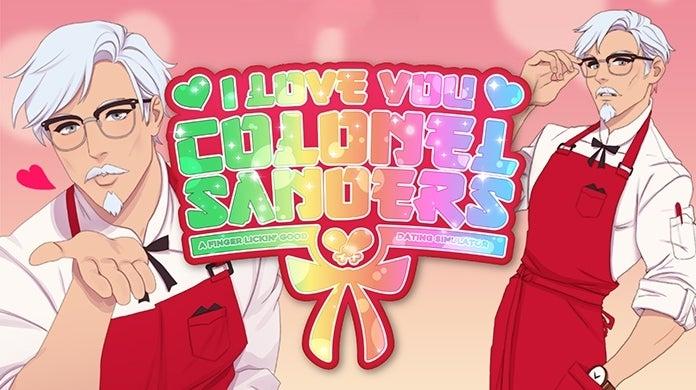 KFC Colonel Sanders Dating Sim