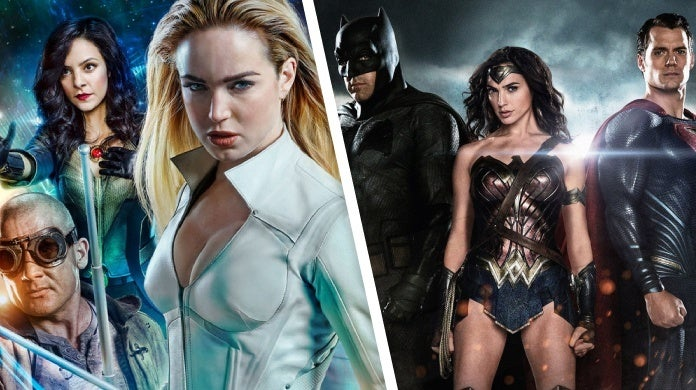 legends of tomorrow batman v superman dawn of justice